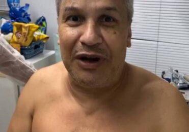 Curado do Covid-19, Sikêra Junior avisa retorno ao programa Alerta Nacional, transmitido pela RedeTV