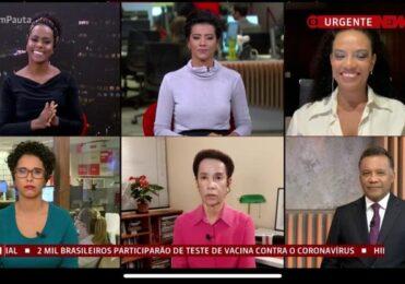 Após críticas, GloboNews coloca jornalistas negros no 'Em Pauta' – TV & Novelas – iG