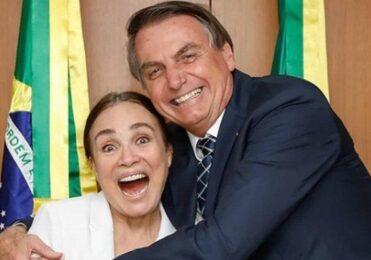 Após sumiço, Regina Duarte segue apoiando Bolsonaro – Cultura – iG
