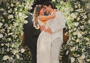 Bárbara Evans mostra as fotos do seu casamento virtual  – Celebridades – iG