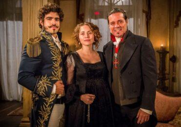 Bonifácio se preocupa com Leopoldina em 'Novo Mundo' – TV & Novelas – iG