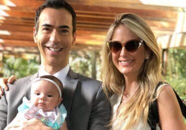 Cesar Tralli diz que chora de saudade da filha durante cobertura – Celebridades – iG