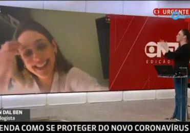 Em jornal, criança interrompe entrevista ao vivo e diverte a web – TV & Novelas – iG