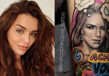 Fã tatua rosto de Rafa Kalimann e dispara: 'Vai ficar em choque' – BBB – Big Brother Brasil – iG