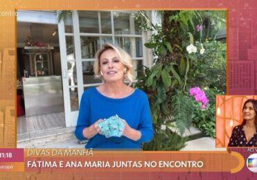 Fátima Bernardes e Ana Maria retornam à Globo e falam de Covid-19 – Celebridades – iG