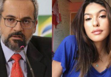 Fernanda Concon 'janta' Ministro da Educação em vídeo sobre Enem – Celebridades – iG