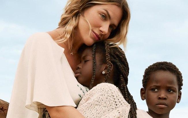 Giovanna Ewbank e os filhos