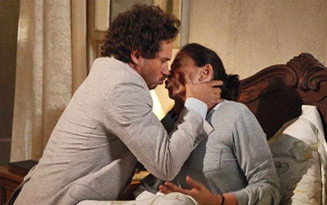 Guaracy pede Griselda em casamento