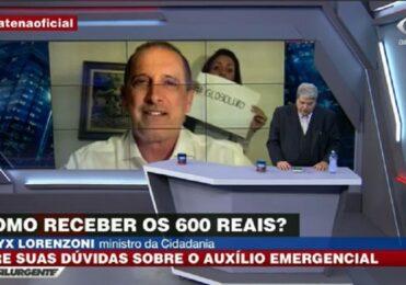 'Não tenho nada contra a Globo e nada a favor também', diz Datena – TV & Novelas – iG