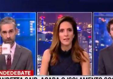 Monalisa Perrone interrompe e corrige comentarista ao vivo – Celebridades – iG