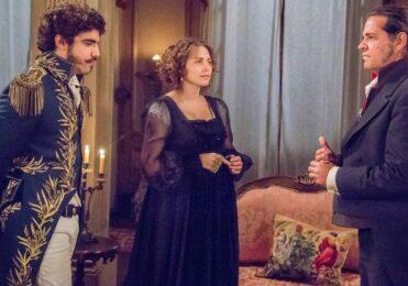 Pedro vê Leopoldina conversando com Bonifácio em 'Novo Mundo' – TV & Novelas – iG