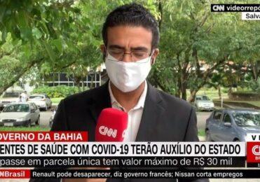 Repórter da CNN dá susto após interromper transmissão ao vivo – TV & Novelas – iG