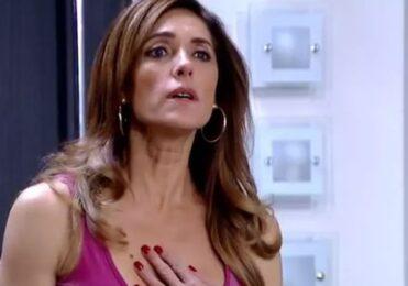 Traída, Tereza Cristina arma um escândalo em 'Fina Estampa' – TV & Novelas – iG