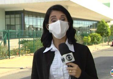 Usando máscara, repórter da Globo fica com falta de ar ao vivo  – TV & Novelas – iG