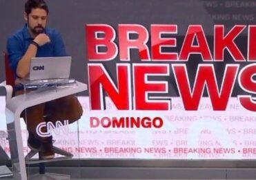 Vaza ao vivo comentário polêmico de Phelipe Siani na CNN; assista – TV & Novelas – iG