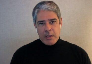 William Bonner fala que foi hostilizado na rua: 'Constrangedor' – TV & Novelas – iG