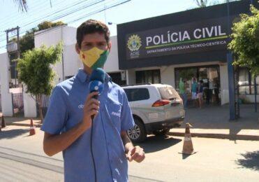Repórter do Alerta Nacional solta GRITO ao vivo ao ver caminhão e vídeo VIRALIZA na internet