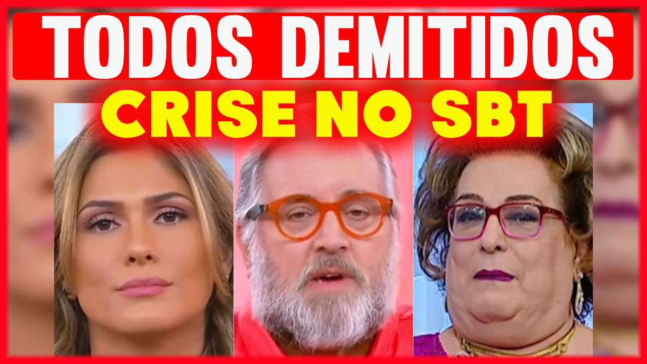 Crise SBT DEMITE Livia Andrade Leão Lobo e Mamma Bruschetta de uma só vez