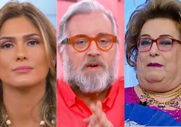 Crise: SBT DEMITE Livia Andrade, Leão Lobo e Mamma Bruschetta de uma só vez