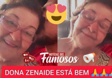 Cristiano da dupla com Zé Neto gravou vídeo com Dona Zenaide, ela está bem