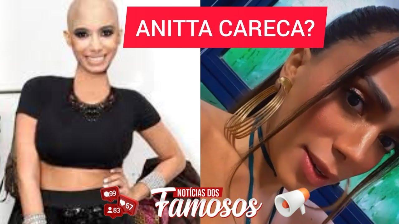Anitta Careca Cantora DESMENTE ter RASPADO o cabelo para Ritual do Candomblé (VÍDEO COMPLETO)