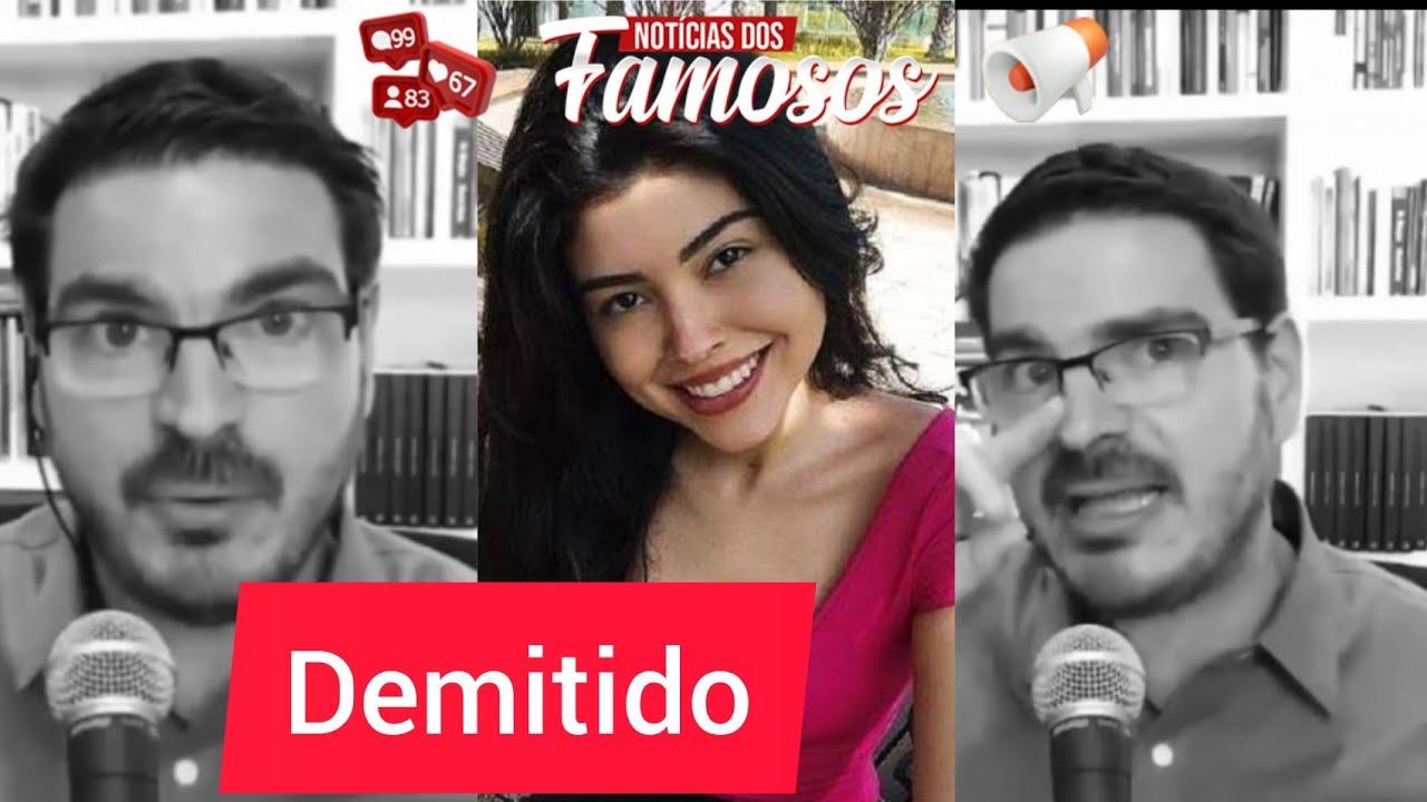 BOMBA Rodrigo Constantino é DEMITIDO da Jovem Pan após opinião sobre caso Mariana Ferrer