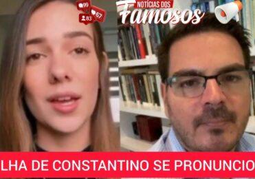 Filha de Rodrigo Constantino se PRONUNCIA sobre comentário do Pai no caso Mariana Ferrer