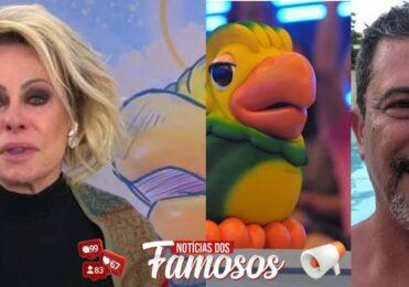 Ana Maria Braga abre o programa aos Prantos para falar sobre o Falecimento de Tom Veiga