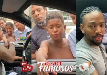 Nego do Borel distribui dinheiro para jovens em semáforo: 'Foi uma exceção'