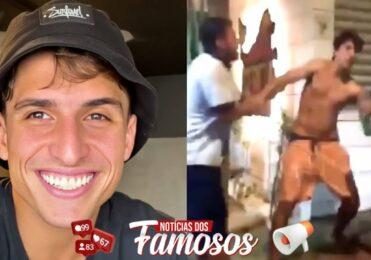 Ex-Bbb Felipe Prior se Envolveu em uma Briga feia em Ilhabela(SP)