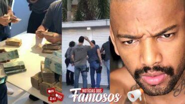 Polícia apreende passaporte e mais de R$ 470 mil na casa de Nego do Borel no Rio
