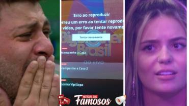 BBB21: Festa Olho no Olho / Caio leva Tombo na Festa/ Globoplay Fora do ar / Viih tube passa Mal