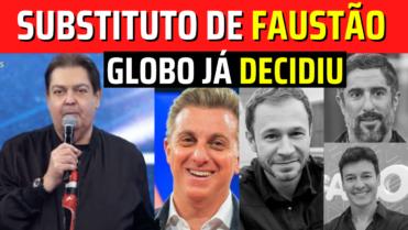🔴Quem vai substituir Faustão em 2022? Rede Globo já DECIDIU, Saiba quem Será!!! Confira!💥