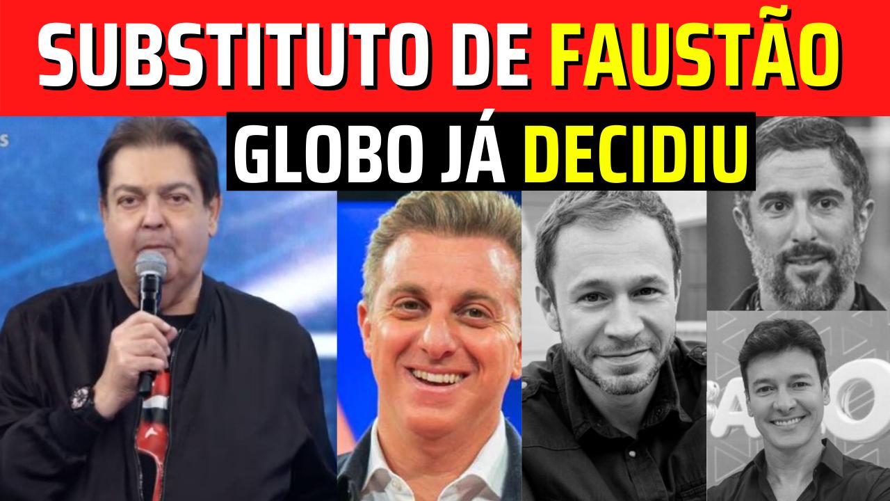🔴Quem vai substituir Faustão em 2022 Rede Globo já DECIDIU, Saiba quem Será!!! Confira!💥