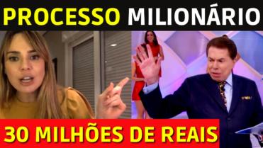 🔴Rachel Sheherazade PROCESSA Silvio Santos e EXIGE R$ 30 milhões de INDENIZAÇÃO 💥