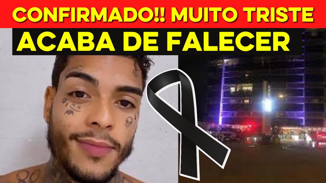CONFIRMADO!! MC Kevin morre após cair de 11º andar de hotel no Rio de Janeiro - TRISTE NOTÍCIA