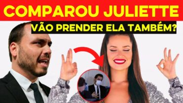 Carlos Bolsonaro COMPARA Juliette do BBB21 com assessor que fez gesto supremacista e é DETONADO