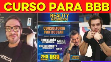 🔴Campeão do BBB 9, Max Porto COBRA R$999 por Curso com DICAS para VENCER o BBB💥