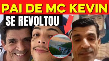 """Pai de MC Kevin se revolta com amigos do filho: """"Ninguém fez nada para evitar a fatalidade"""""""