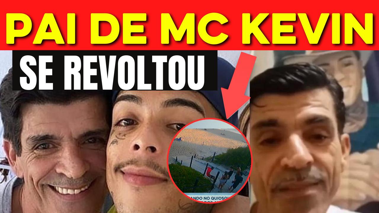Pai de MC Kevin se revolta com amigos do filho Ninguém fez nada para evitar a fatalidade